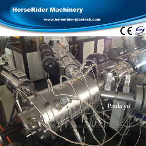 Three Layer PPR Hot and Cold Water Pipe Extruder Machine pictures & photos