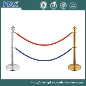 Stainless Steel Post and Rope Stanchion pictures & photos