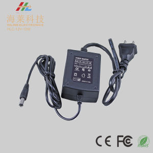 DC12V/24V 12W Desk Top Switching Adapter LED Driver pictures & photos