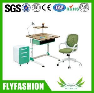 Good Quality School Furniture Student Desk and Chair Used for Home (SF-15S) pictures & photos