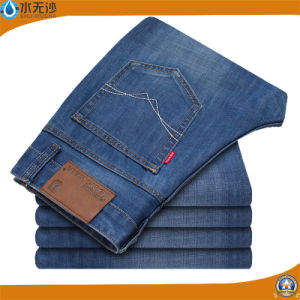 China OEM Basic Men Denim Trousers Cheap Jean Pant