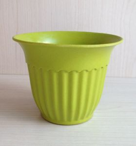 Eco Bamboo Fiber Flower Pot (BC-F1017) pictures & photos
