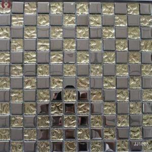 Decoration Wall Tiles Bathroom Tile Kitchen Glass Mosaic Tile (JJ1828) pictures & photos