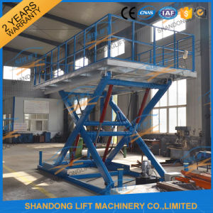 Hydraulic Scissor Car Elevator Auto Car Parking Equipment for Sale pictures & photos