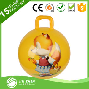 Kids Round Handle China PVC Jumping Ball