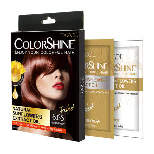 New Promotion Fast Dye Hair Color Cream 25ml*2 pictures & photos