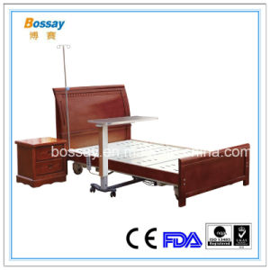 Solid Wood Type Home Care Bed with Three Functions pictures & photos
