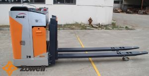 2 Ton Electric Pallet Truck with Side-Facing Seated Position pictures & photos
