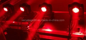 Double Face 10W Beam LED Moving Head Light 4X10W RGBW Wash LED Moving Head Light pictures & photos