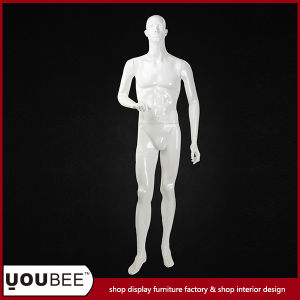 Male Fiberglass Mannequin in Glossy White pictures & photos