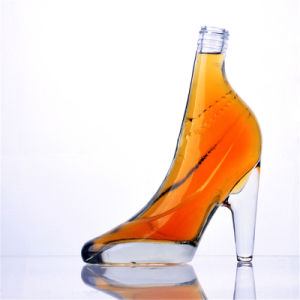 Colorful High Heeled Shaped Glass Bottles pictures & photos