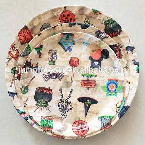 Household Daily Promotion Gift Round Plastic Tray