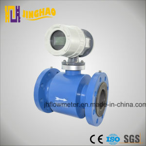 Flange PTFE Lining Electromagnetic Flowmeter for All Kinds Liquid (JH-DCFM-CS) pictures & photos