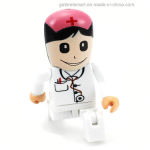 High Speed Cartoon Plastic USB Flash Drive for Promotion Gift pictures & photos
