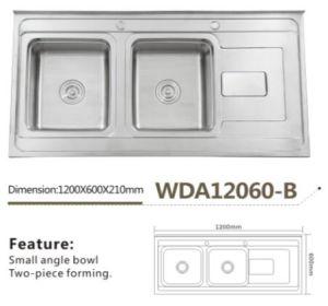 Stainless Steel Kitchen Sink 12060-B