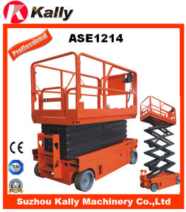 Full Electric Driving Moving Scissor Lift Platform (ASE1214) pictures & photos