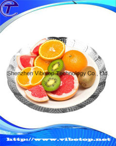 Stainless Steel Magic Disk Steaming Tray Fruit Plate (VBT-H010) pictures & photos