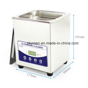 Digital Ultrasonic Record Cleaning/Washing Machine for Blind Hole Metal Part pictures & photos