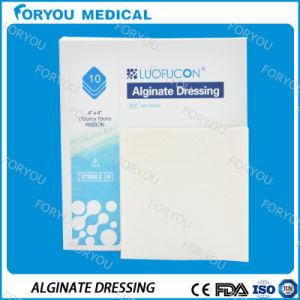 Nursing Home Supplies Premium Silvercel Dressing Non Adherent Pad Alginate Wound Burn Dressing Silver pictures & photos