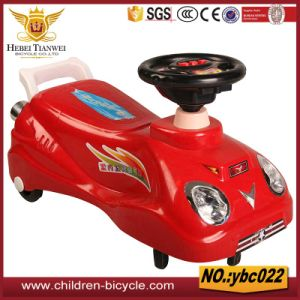 Super Popular Plastic Baby Ride on Car with Music/Baby Swing Car pictures & photos