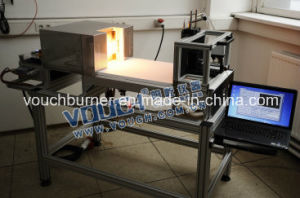Fabric Fire Conductivity Performance Combustion Tester with Standard 5371