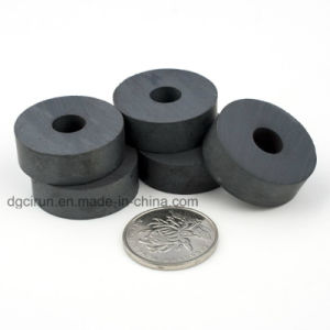Customized Ring Ceramic Ferrite Magnet for Sale pictures & photos