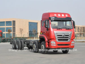 Sinotruk Man Engine Hohan 8*4 Lorry Truck