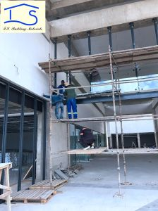 Moden Architecture Exterior Facade Point Fixing Glass Panel Curtain Wall System pictures & photos