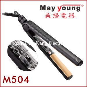 M504 Small Travel Tourmaline Coating Hair Flat Iron pictures & photos