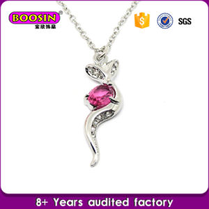 Love Heart Necklace/Sparkling Crystal Necklace #11218 pictures & photos