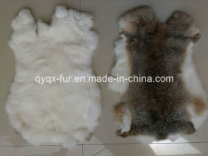 Factory Direct Supply Natural and Soft 100% Real Rabbit Skin pictures & photos