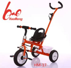 Factory Wholesale Kids Tricycle Toy with Push Handle pictures & photos