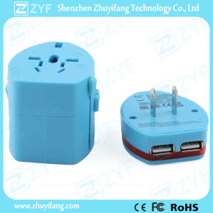 Universal Multi Plug Electrical USB Charger Travel Adapter (ZYF9010) pictures & photos