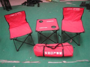 2persons Folding Camping Chair and Desk pictures & photos
