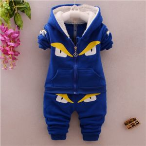 Ks1911 Winter Casual Thick Warm Kids Clothes Sports Suit pictures & photos
