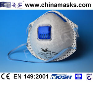 CE Disposable Nonwoven Safety Dust Mask with Valve pictures & photos