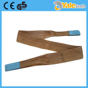 Flat Eye Lifting Slings, Nylon Flat Webbing Sling Material Web Sling Single Ply pictures & photos