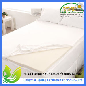 """White Twin Size Mattress Cover Protector Vinyl Sheet Waterproof (39""""X76""""+11.5"""") pictures & photos"""