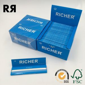 13GSM Custom Logo Smoking/Tobacco Hemp Rolling Papers pictures & photos