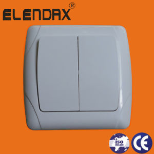 European 10A Electrical Wall Switch with Indicate Light (F3101) pictures & photos