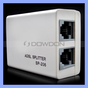 Rj11 Telephone Phone ADSL Splitter DSL Flitter with 2 Ports pictures & photos