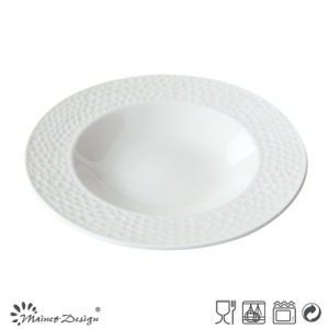 Hot Selling Embossed High Quality Soup Plate pictures & photos