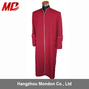 High Quality Customized Clergy Cassock Gabardine Cross Colors pictures & photos