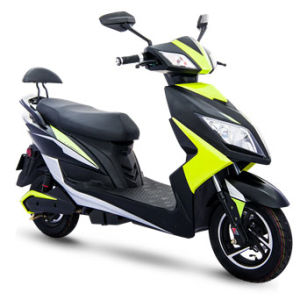 800W 72V Electric Motorcycle Dual Remote Announciator E Motorcycle pictures & photos