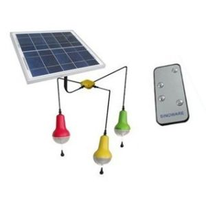 Solar Home Lighting System, 12W 6V Solar Panel, Lithium Battery pictures & photos
