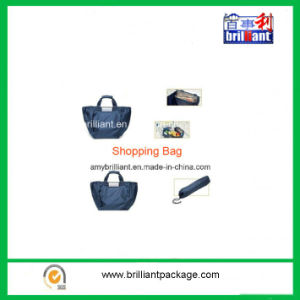 Foldable Personalized Nylon Handle Shopping Bag for Trolley pictures & photos