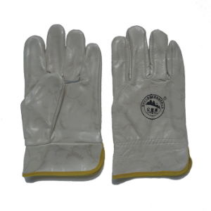 Furniture Leather Working Safety Protective Hand Gloves for Riggers pictures & photos