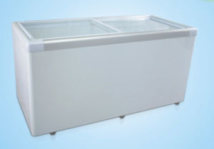 Horizontal Glass Door Refrigeration/Freezing Change-Over Freezer SD-610 pictures & photos