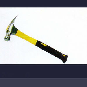 American-Style Claw Hammer with Half Plastic-Coating Handle pictures & photos