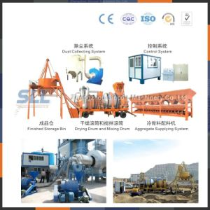 Small Cheap Bitumen Drum Mix Plant 20t/H pictures & photos